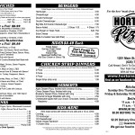 Horton's Pizza Plus Parsons KS Menu 2