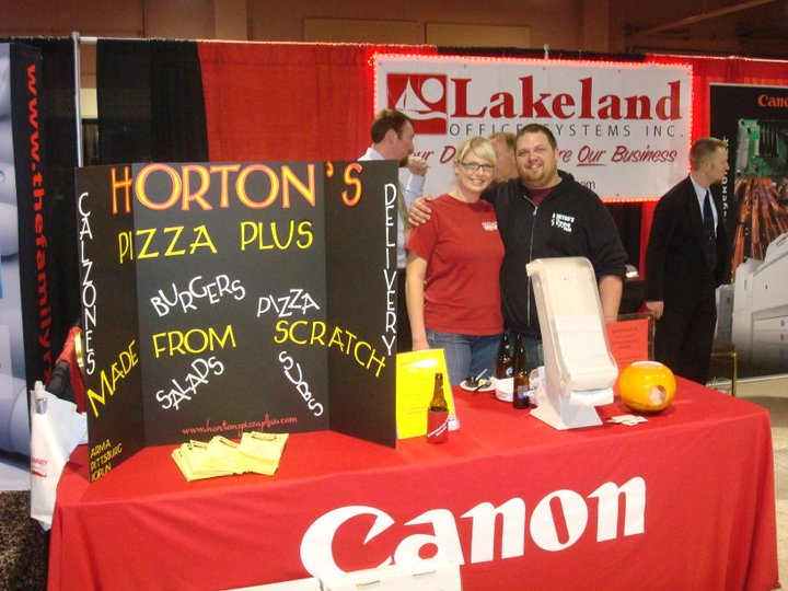 Horton's Pizza Plus: Joplin Regional Business Expo