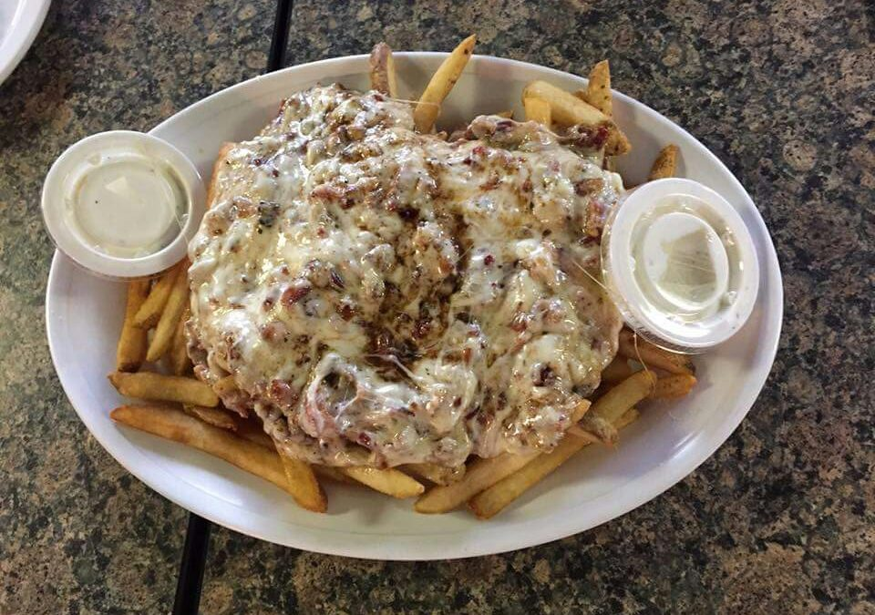 Bacon Ranch Fries w/ Ranch
